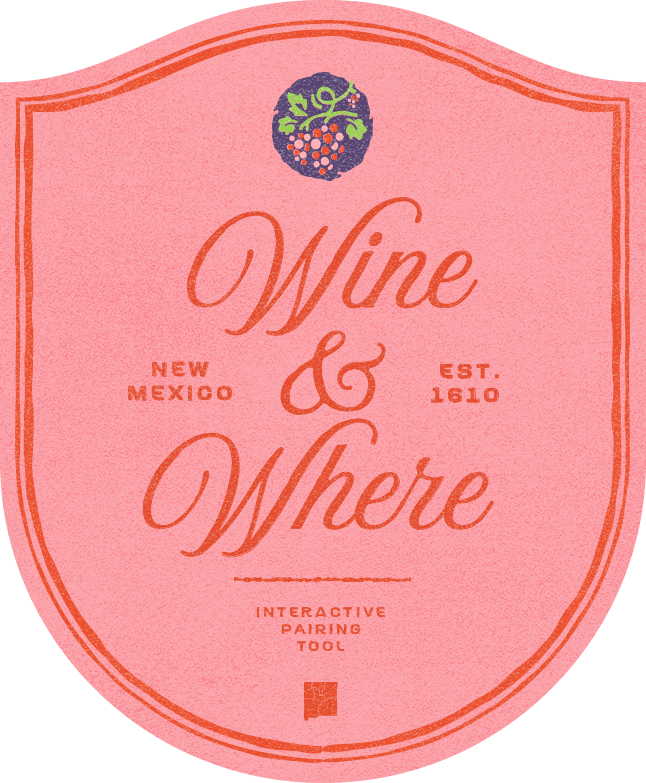 Wine & Where Interactive Pairing Tool